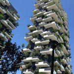 Das vertikal begrünte Hochhaus Bosco Verticale in Mailand