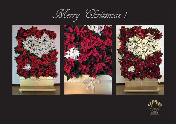 Weihnachtsschmuck in Pflanzenform