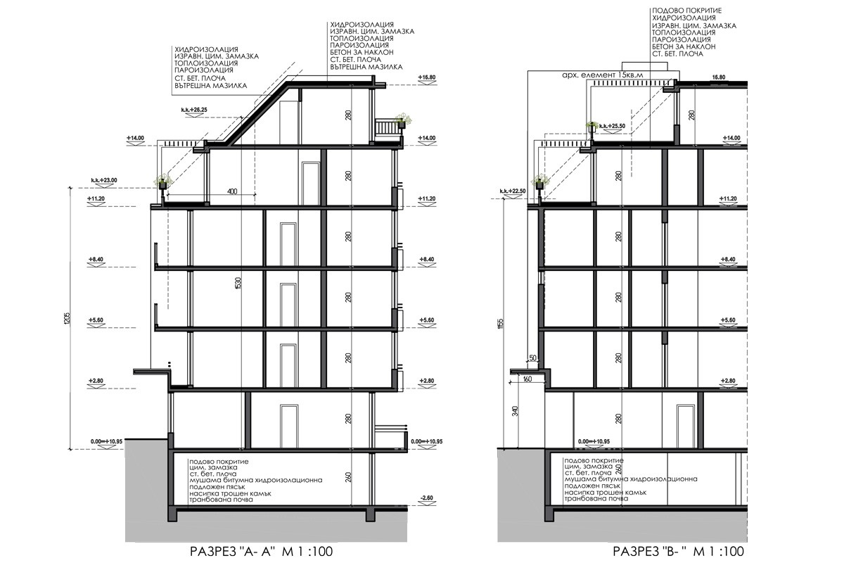 Conceptual Architectural Design Of Residential Building