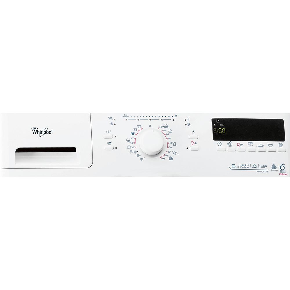 Whirlpool 6Th Sense Waschmaschine Awo/C 6340 6 Kg Frontlader A+++