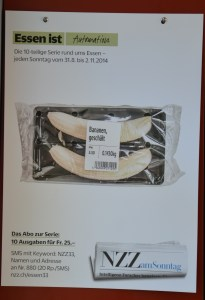 NZZ-Produkt Bananen geschält