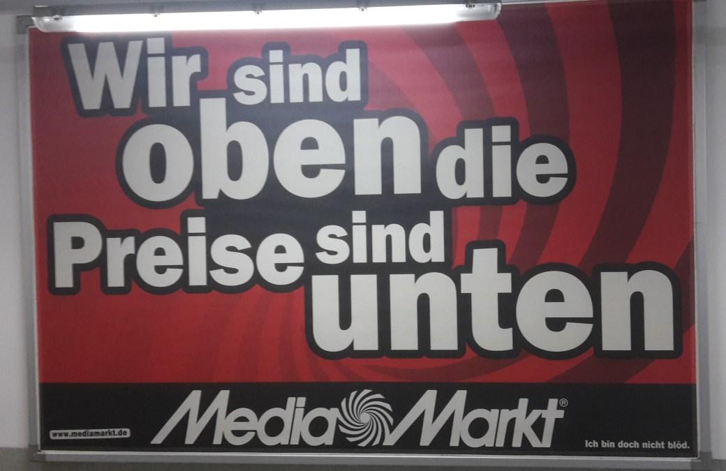 MediaMarkt in der Tiefgarage