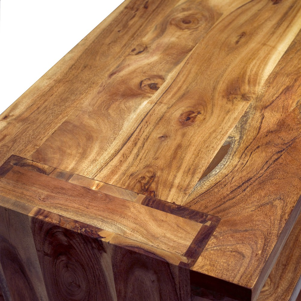 Dark Coffee Wood Table Sets