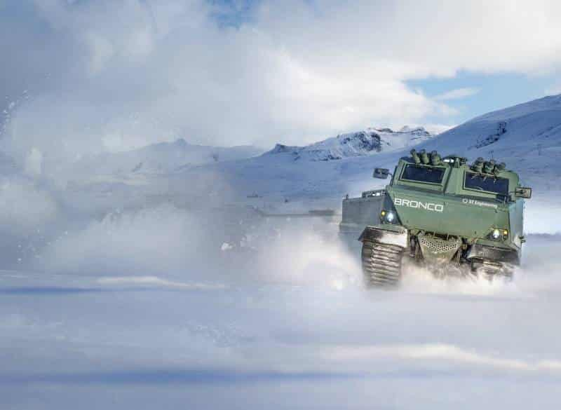 Bronco All Terrain Tracked Carrier