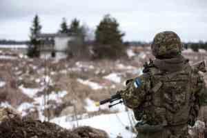 Учения эстонской армии
