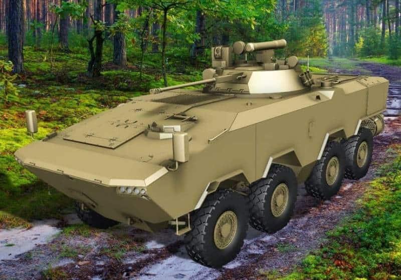 бронетранспортер БТР-V2. МинскБронетранспортёр БТР-V2 8Х8