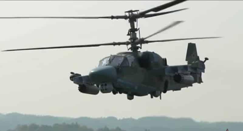 Ударно-разведывательный вертолёт Ка-52М