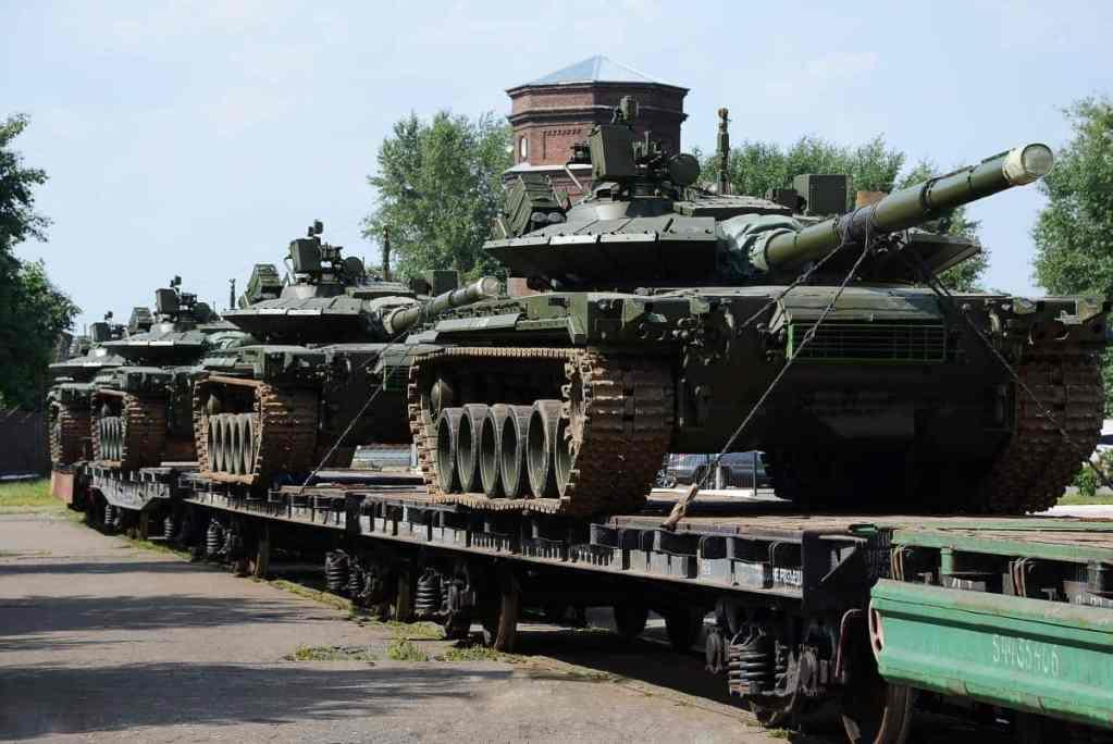 танки Т-80БВМ