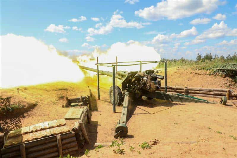 Всеармейский конкурс артиллеристов в Ленобласти