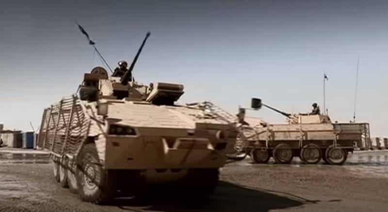 «Афганская» версия БТР «Росомаха»