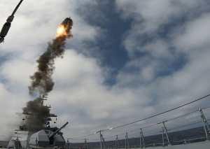 Корветы ТОФ «Громкий» и «Совершенный» провели ракетные стрельбы в Японском море