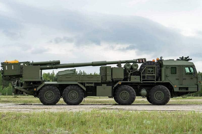 152-мм самоходный артиллерийский орудие 2С43 Мальва