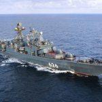 Большой противолодочный корабль «Вице-адмирал Кулаков» пополнил запасы на Кипре
