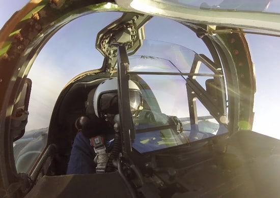 Пилот штурмовой авиации армии ВВС и ПВО