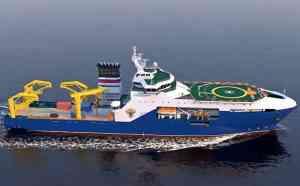 многофункциональное научно-исследовательское судно неограниченного района плавания