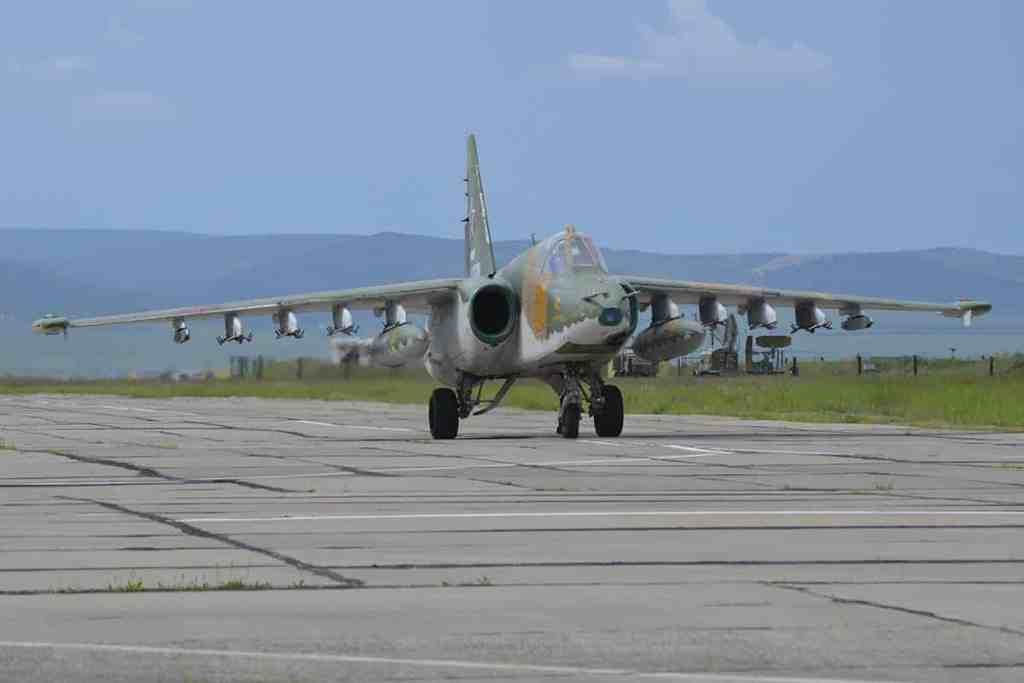 штурмовики Су-25 ВВО