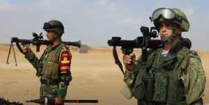 Совместные стрельбы военнослужащих России и Египта