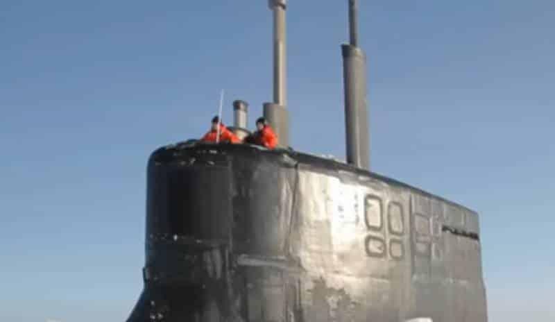 рубка атомной субмарины ВМС США