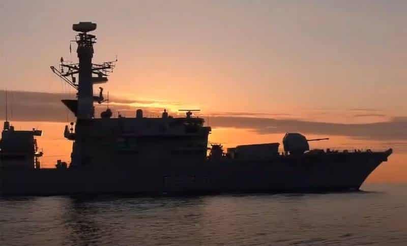 фрегат британских королевских ВМС