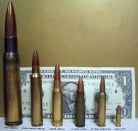 Verschillende kogels