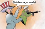 Strijdende journalist