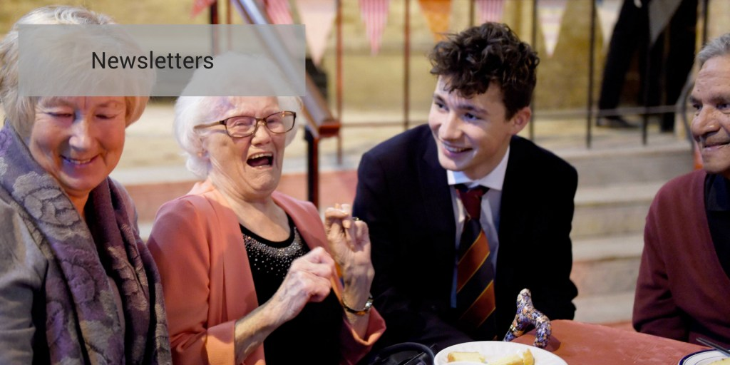 education-image-of-pupil-talking-to-laughing-old-ladies. Education photographers at Vervate.