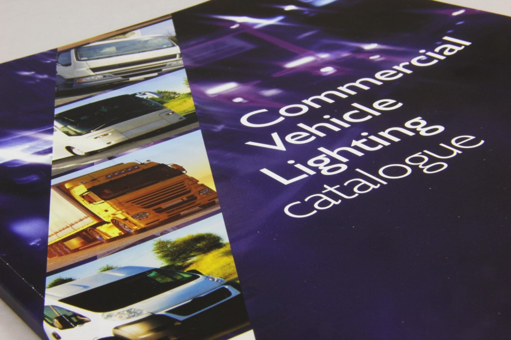 Design and print of a lighting catalogue