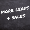 more leads and sales