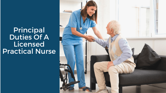 Principal Duties Of A Licensed Practical Nurse
