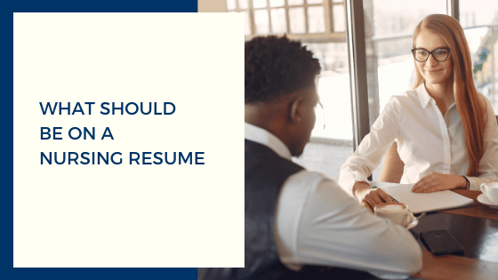 What Should Be On A Nursing Resume