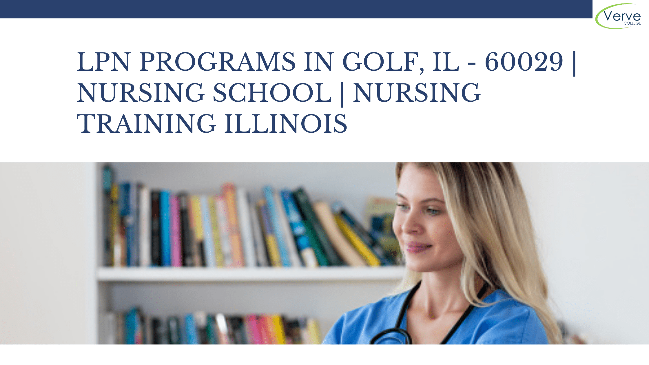 LPN Programs in Golf, IL – 60029 | Nursing School | Nursing Training Illinois