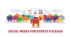 Social Media for Events Packages and Services