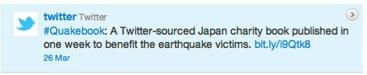 quakebook tweet