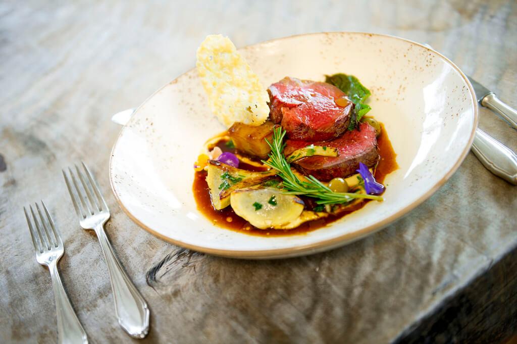 Steak dish small