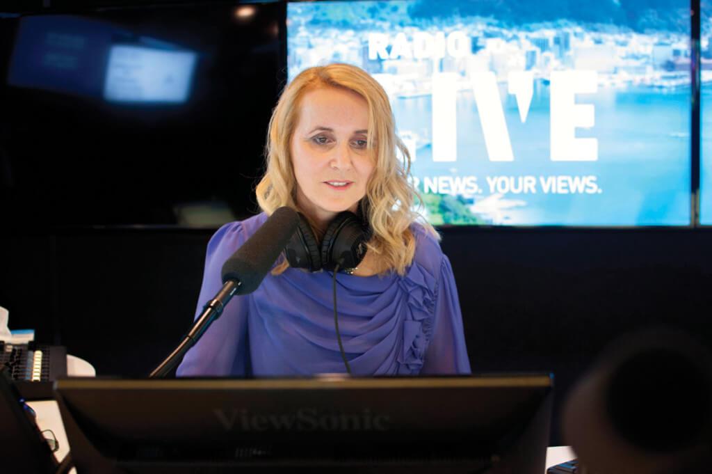 Karyn Hay, RadioLIVE Studio 1a