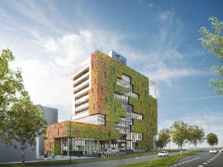 Impressie Stadskantoor Venlo (bron: http://www.venlovernieuwt.nl/stadskantoor/venlo-bouwt-een-nieuw-stadskantoor).
