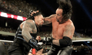 Reigns vs The Undertaker