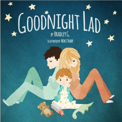 Goodnight lad interactive augmented reality children's book