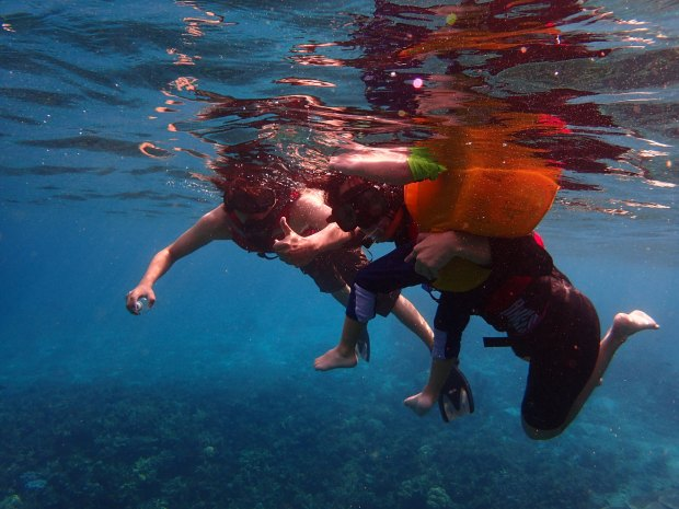 Unconventional Family Vacation Ideas snorkeling
