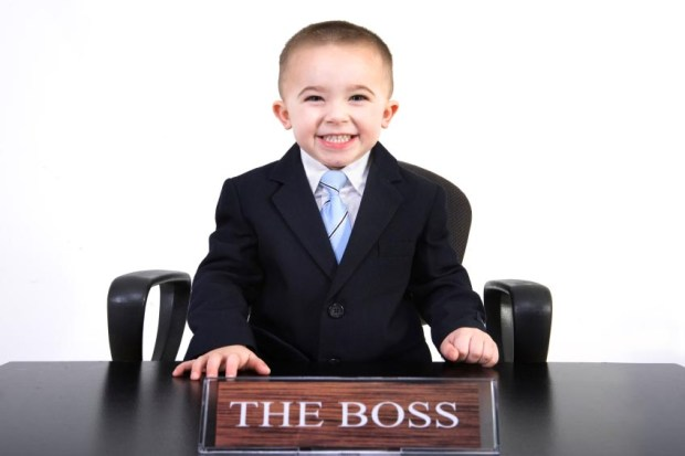 Raise child to be a future leader