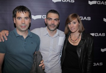 Miguel, Darío y Erika