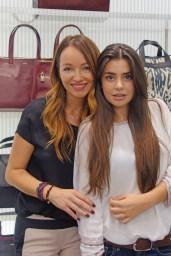 Ana Antic con Natalia