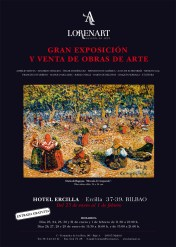Lorenart en Bilbao. Gran Exposición y venta de obras de arte.
