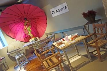 Olagorta en el Patio de las Bodas, Bilbao.