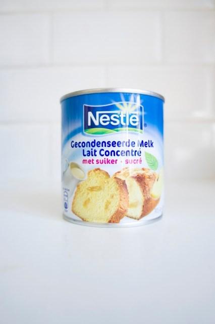 dulce de leche- lait concentré sucré
