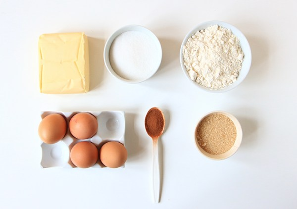 ingrédients Cake cannelle