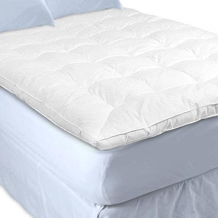 Soft Support To Your Firm Mattress You Can Sure Give It A Go With The White Goose Topper Feather And Down Baffle Box Featherbed Cover Top