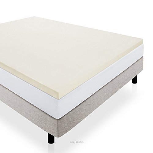 Don T Let The Low Price Of Lucid 2 Inch Foam Mattress Topper Full Mislead You Manages To Make Our Top 10 For Quality It Brings