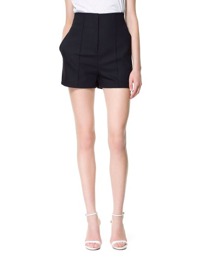 High waisted shorts Zara