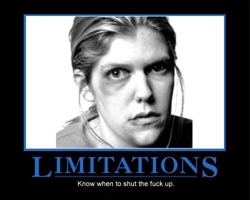 Verydodgy.com : Funny Pics : People : Limitations.jpg